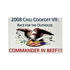 Cute Chili cookoff Rectangle Magnet