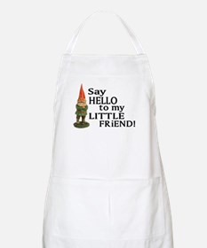Say Hello to my Little Friend BBQ Apron