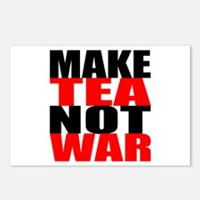 Make Tea Not War Postcards (Package of 8)