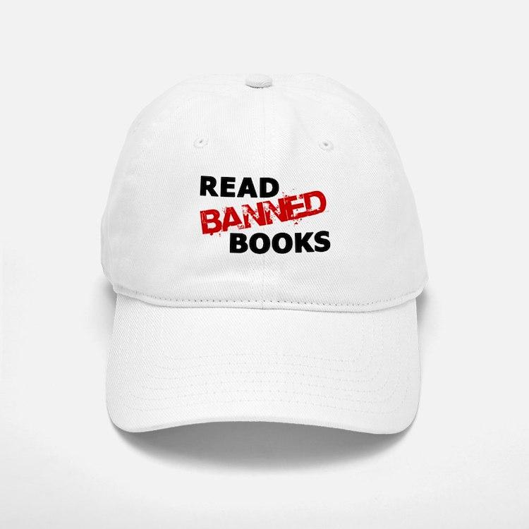Read Banned Books Baseball Baseball Cap
