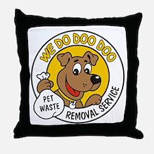 Doo Doo Throw Pillow