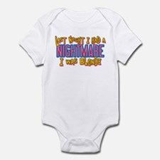 Blonde Nightmare Infant Bodysuit