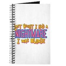 Blonde Nightmare Journal