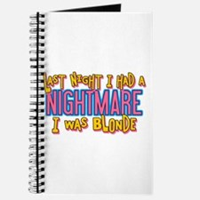 Blonde Nightmare Journal