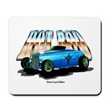 American Blue Hot Rod Mousepad