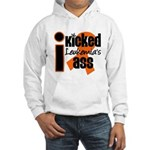 I Kicked Leukemia's Ass Hooded Sweatshirt