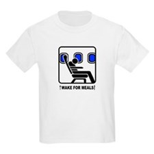 WAKE For MEALS! Kids T-Shirt