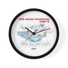 CVN-73 Wall Clock
