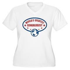 Worlds Greatest Genealogist T-Shirt
