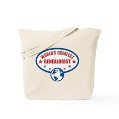 Worlds Greatest Genealogist Tote Bag
