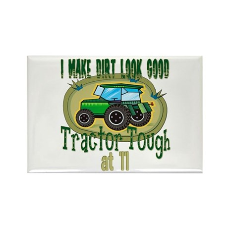 Tractor Tough 11th Rectangle Magnet