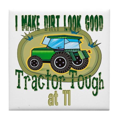 Tractor Tough 11th Tile Coaster