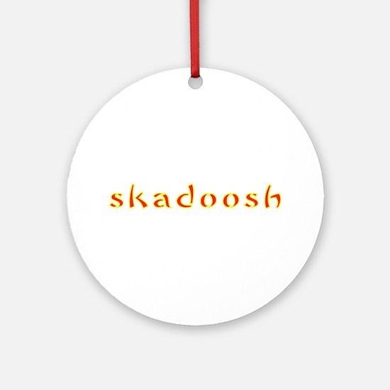 Kung Fu Panda Skadoosh Ornament (Round)