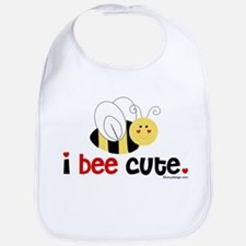 I Bee Cute Bib