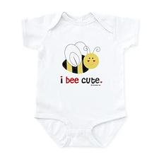 I Bee Cute Infant Bodysuit