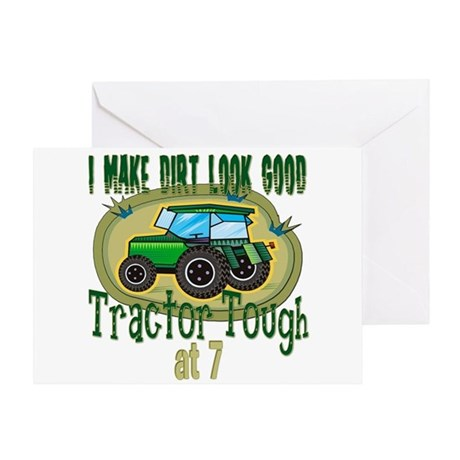 Tractor Tough 7th Greeting Card