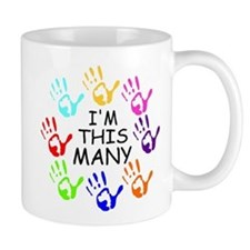 40TH BIRTHDAY Small Mugs