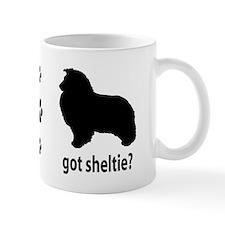 Got Sheltie? Small Mug