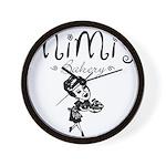 Mimi's Bakery Wall Clock