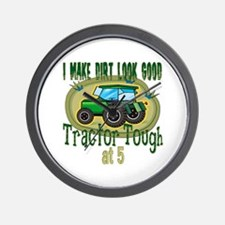 Tractor Tough 5th Wall Clock