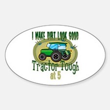 Tractor Tough 5th Oval Decal