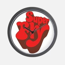Superfly Wall Clock