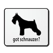 Got Schnauzer? Mousepad