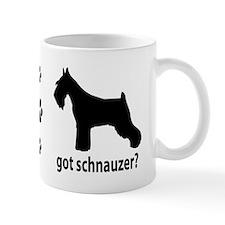Got Schnauzer? Small Mugs