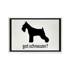 Got Schnauzer? Rectangle Magnet