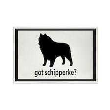 Got Schipperke? Rectangle Magnet