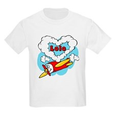 Love Lolo Cute Airplane T-Shirt