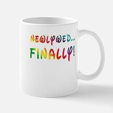 Newlywed Finally! Gay Marriage Mug