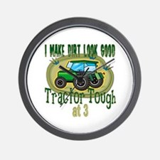Tractor Tough 3rd Wall Clock