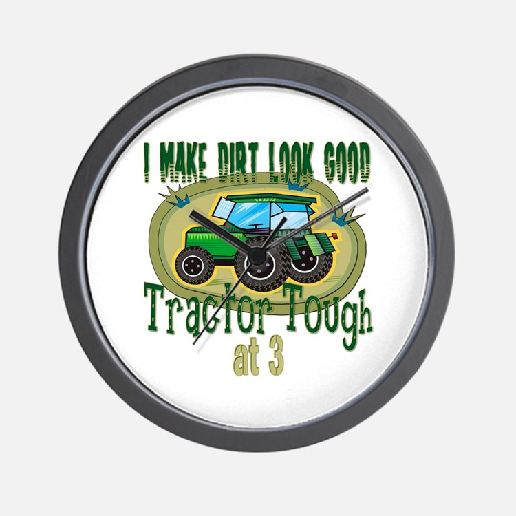 Tractor Tough 3rd Wall Clock