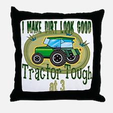 Tractor Tough 3rd Throw Pillow