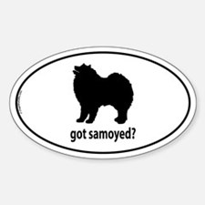 Got Samoyed? Oval Decal