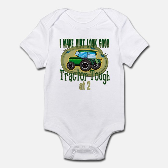 Tractor Tough 2nd Infant Bodysuit