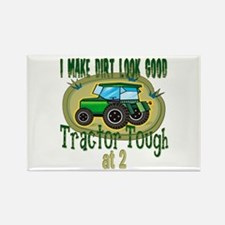 Tractor Tough 2nd Rectangle Magnet
