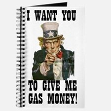 Give me gas money Journal