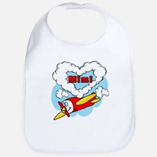 Love Mimi Cute Airplane Bib