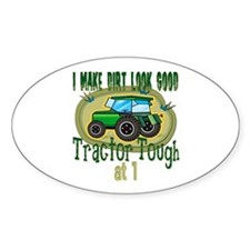 Tractor Tough 1st Oval Decal