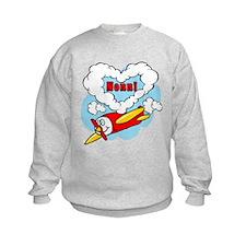 Love Nonni Cute Airplane Sweatshirt