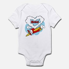 Love Nonni Cute Airplane Infant Bodysuit