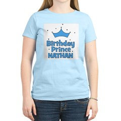 Birthday Prince Nathan! Women's Light T-Shirt