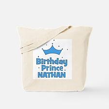 Birthday Prince Nathan! Tote Bag