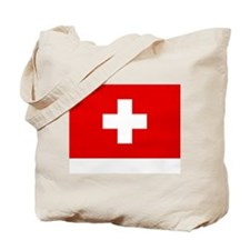 SWISS CROSS FLAG Tote Bag