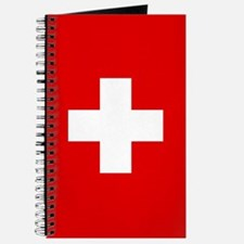 SWISS CROSS FLAG Journal
