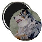 """2.25"""" Magnet (10 pack) Australian Shepherd"""