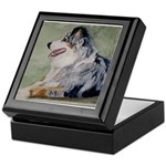 Keepsake Box Australian Shepherd