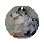 Ornament (Round)Australian Shepherd